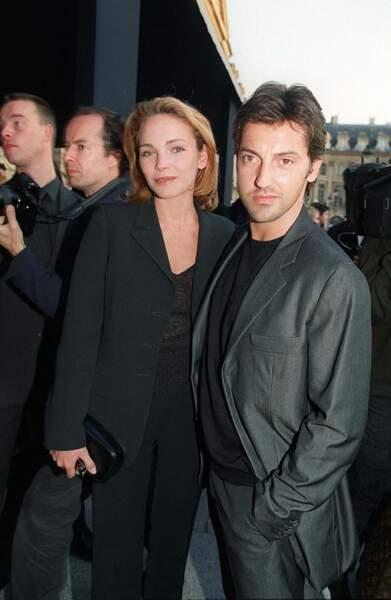 Claire Keim et Frédéric Diefenthal à Paris en mai 2001