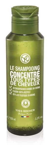 Le Shampooing Concentré, Yves Rocher, 4,90 € (yves-rocher.fr).