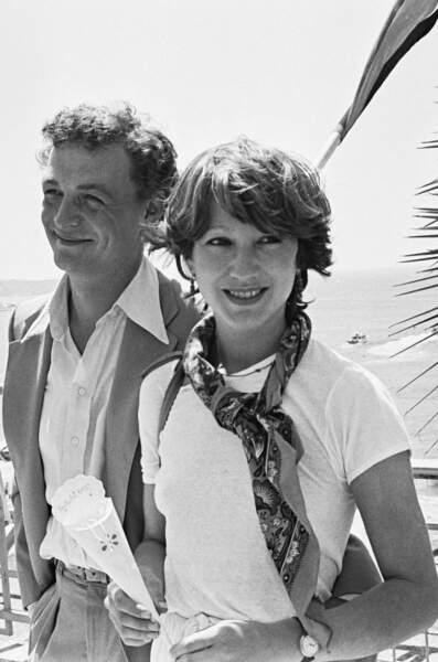 Nathalie Baye et Philippe Léotard, en 1977