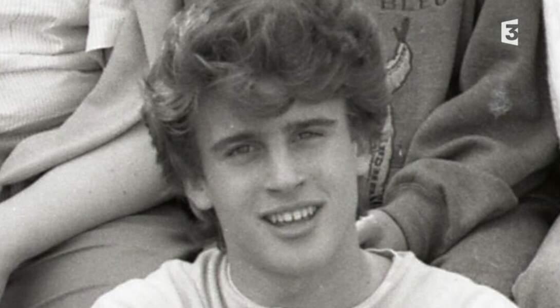 Emmanuel Macron durant ses années lycées.