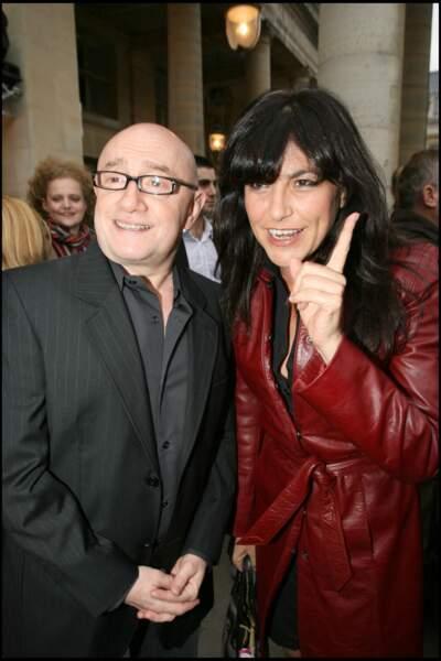 Lio et Michel Blanc en juin 2007