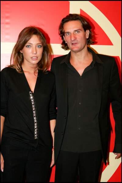 Laura Smet et Frédéric Beigbeder en septembre 2005
