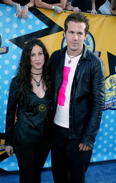 Alanis Morissette et Ryan Reynolds en juin 2003