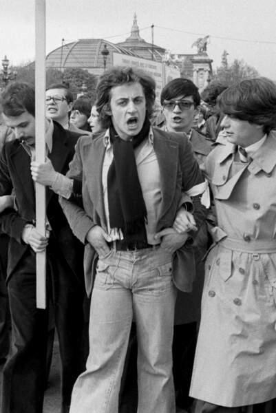 Nicolas Sarkozy dans les années 1970.
