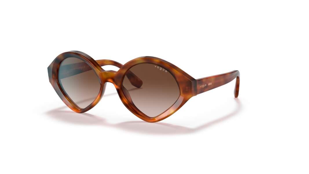 Lunettes de soleil, 99€, Vogue Eyewear x Mbb