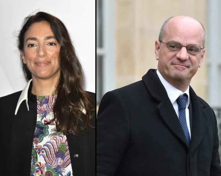 Anna Cabana et Jean-Michel Blanquer