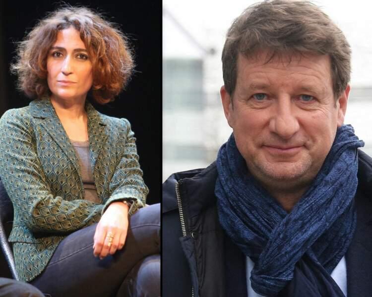 Isabelle Saporta et Yannick Jadot