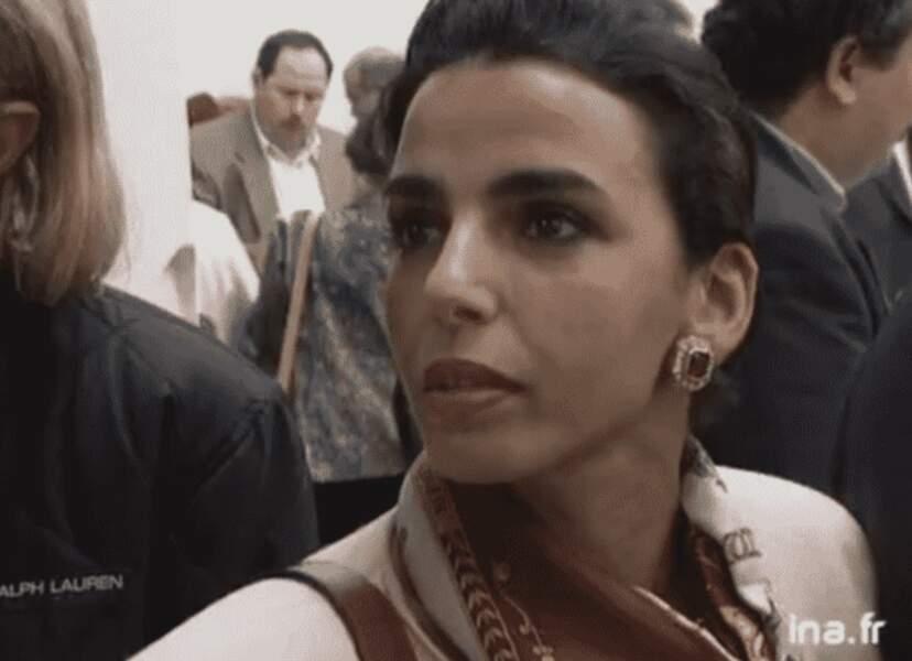 Rachida Dati à 29 ans.