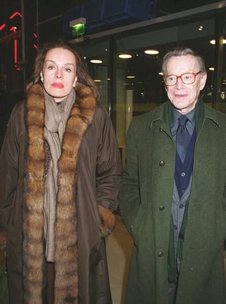 Catherine Nay et Albin Chalandon