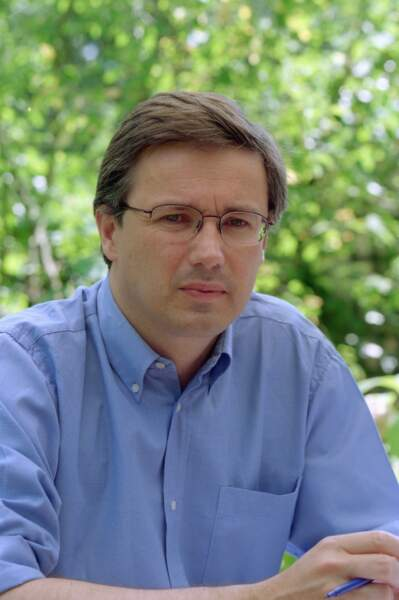 Nicolas Dupont-Aignan dans ses jeunes années.