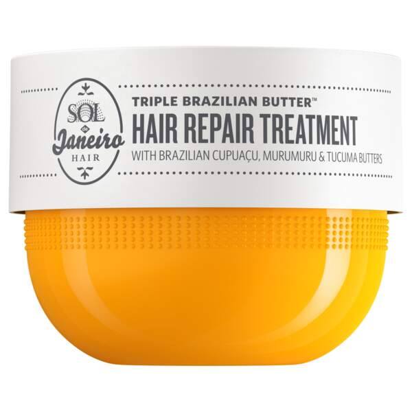 Triple Brazilian Butter Hair Repair Treatment de Sole de Janeiro, 15 € les 75 ml