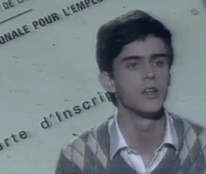 Manuel Valls à 19 ans.