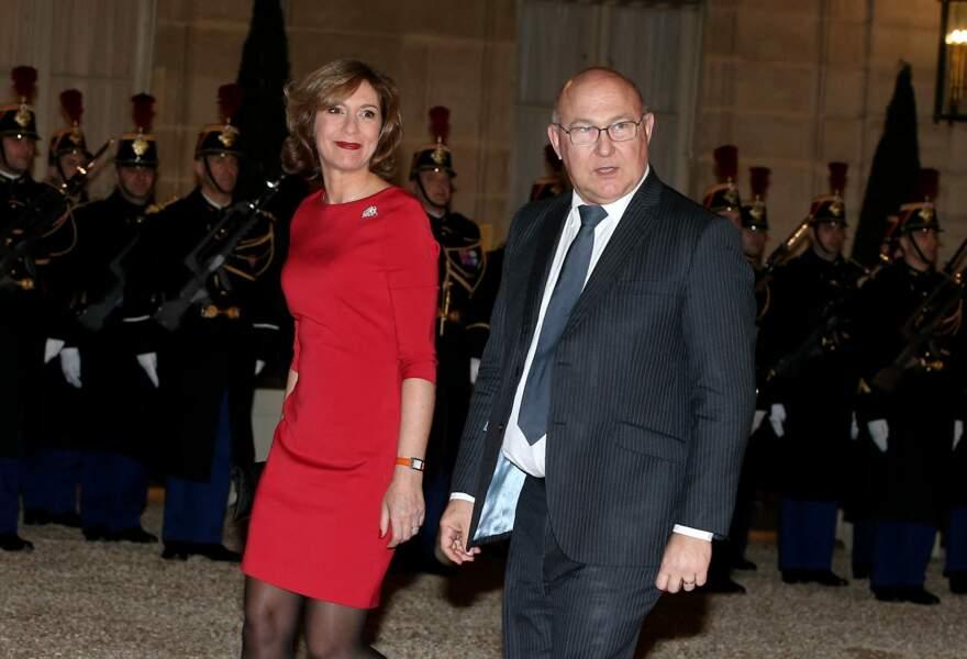 Michel Sapin et Valérie de Senneville