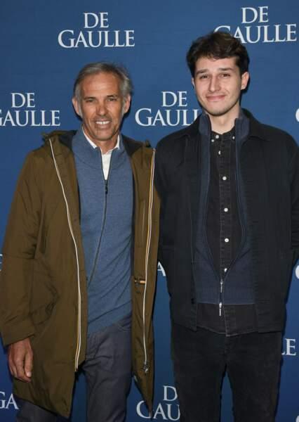 Paul Belmondo et Giacomo Belmondo  à Paris, le 24 février 2020