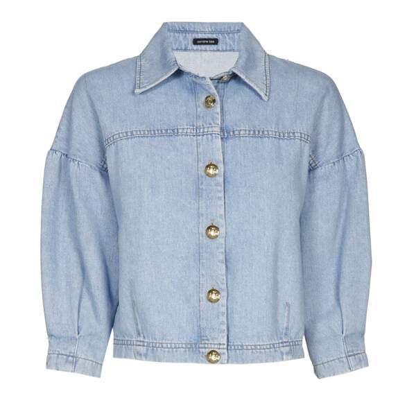 Veste en jean, 215€, Caroline Biss