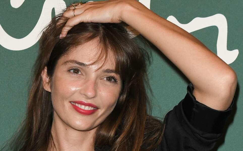 Annabelle Belmondo, fille de Florence, le 21 septembre 2020 à Paris