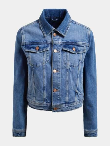 Veste en jean, 129€, Guess