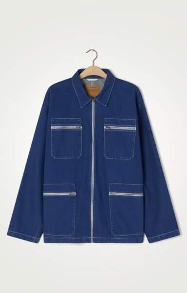 Veste en jean mixte Gambird, 145€, American Vintage
