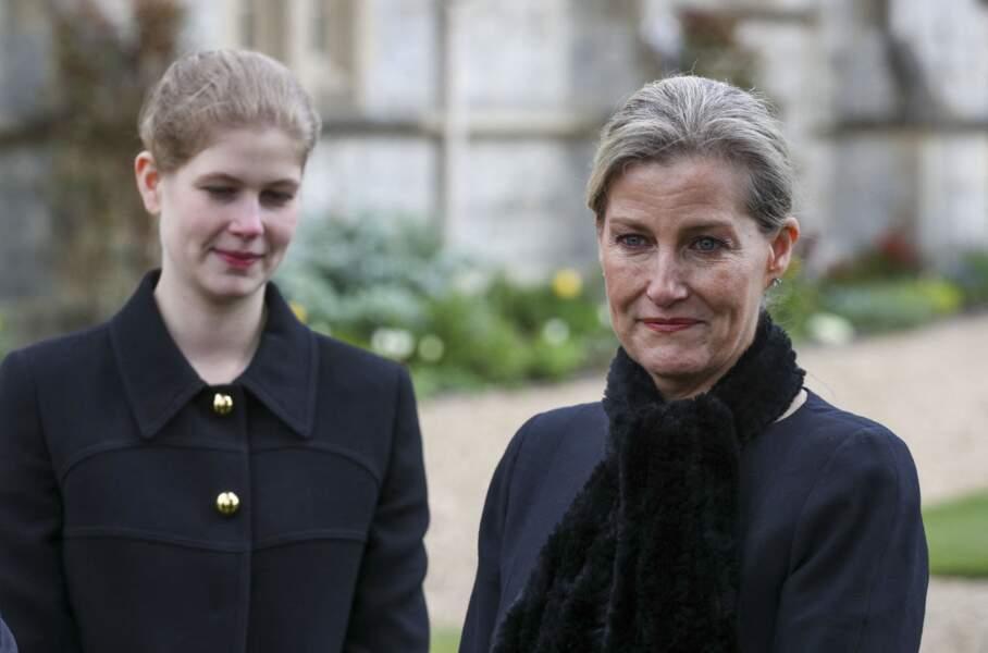 Sophie de Wessex et sa fille Lady Louise