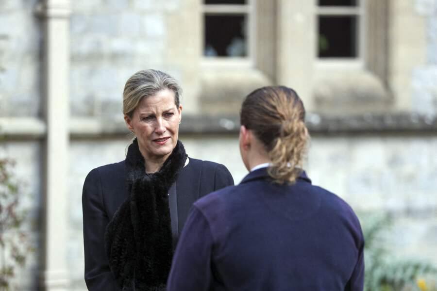Sophie de Wessex rend hommage au prince Philip