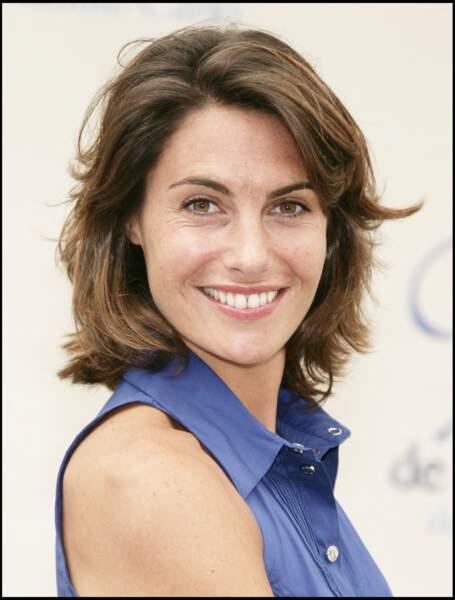 Alessandra Sublet en 2008 avec un carré déjà.