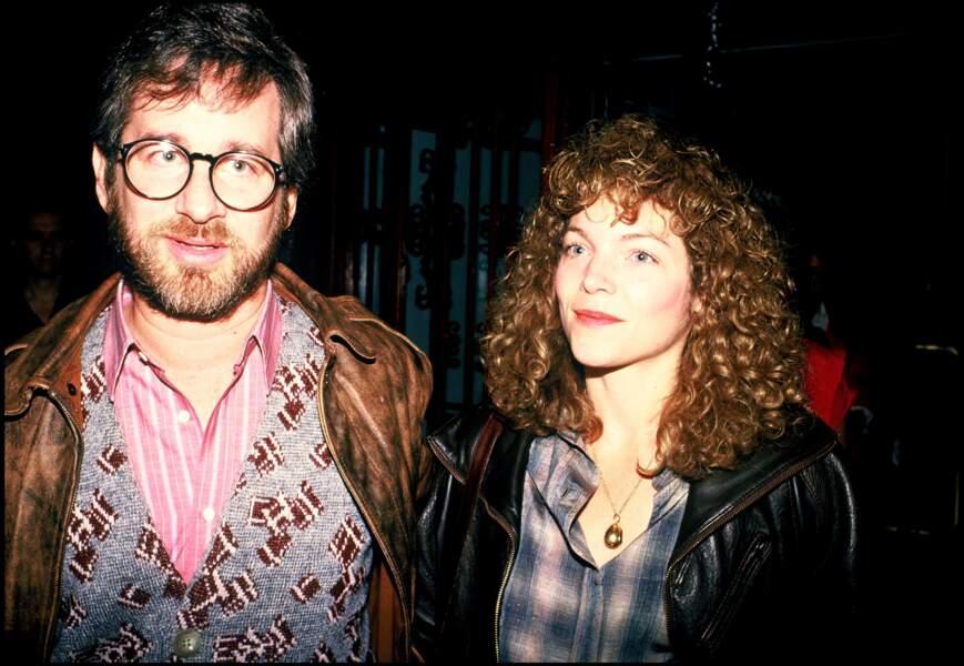 """Steven Spielberg et Amy Irving à l'avant-première du film """"The Dreamer Examines His Pillow"""""""