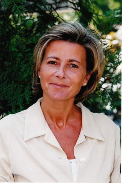 Claire Chazal et son carré très court des années 2000