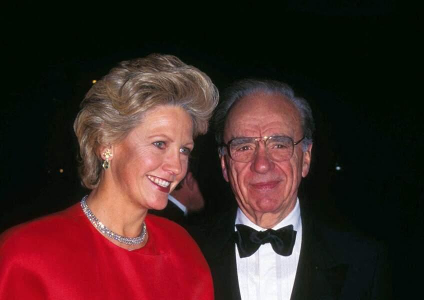Rupert Murdoch et Anna Torv, en 2008