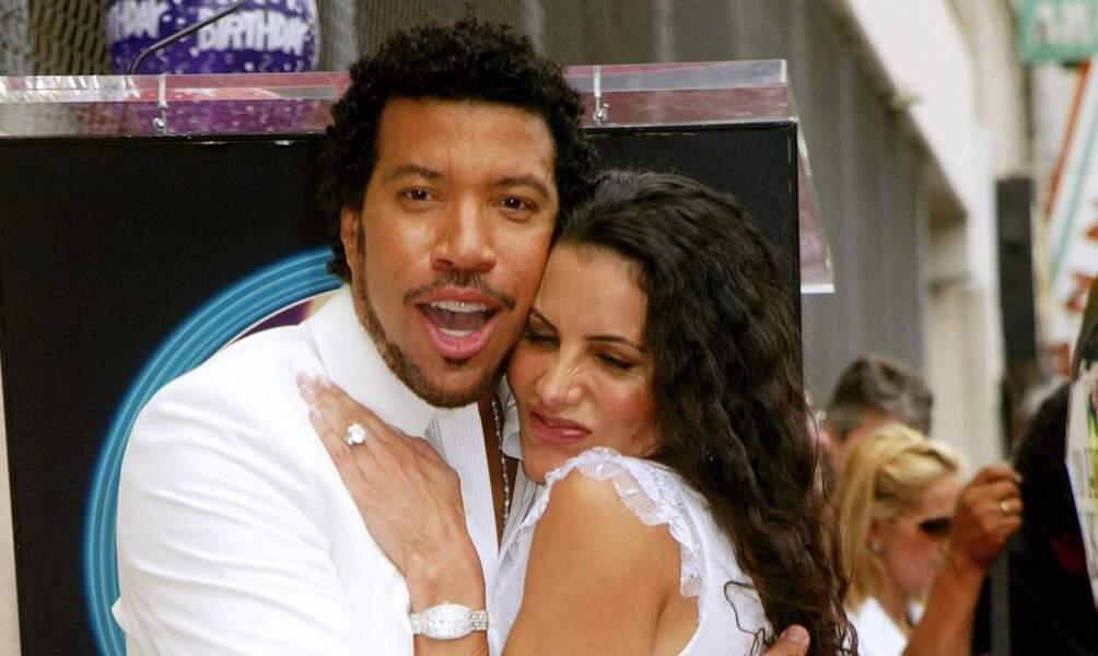 Lionel Richie et son ex-épouse Diane sur Hollywood Boulevard, en 2003