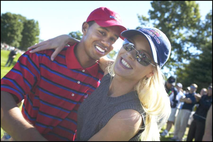 Tiger Woods et son ex-épouse Elin Nordegren