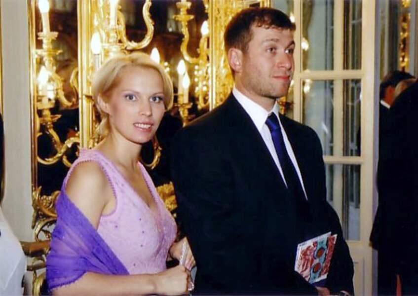Roman et Irina Abramovitch au concert d'Elton John à Saint-Petersburg en 2000