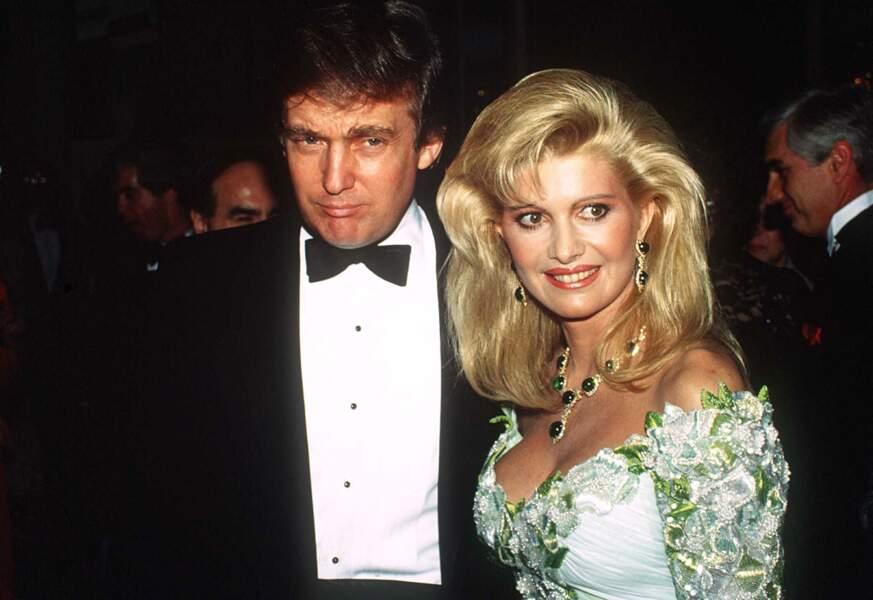 Donald et Ivana Trump, le 15 mai 1985