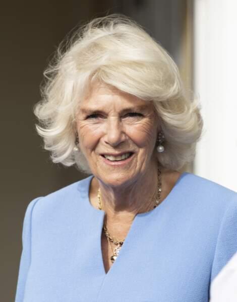 Camilla Parker Bowles, duchesse de Cornouailles, en octobre 2020