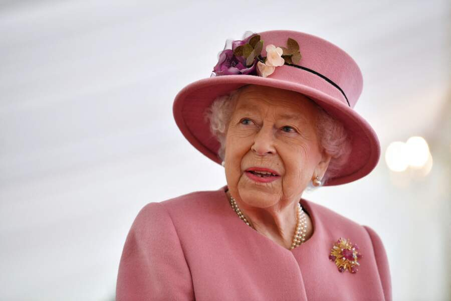 La reine Elisabeth II d'Angleterre, le 15 octobre 2020.