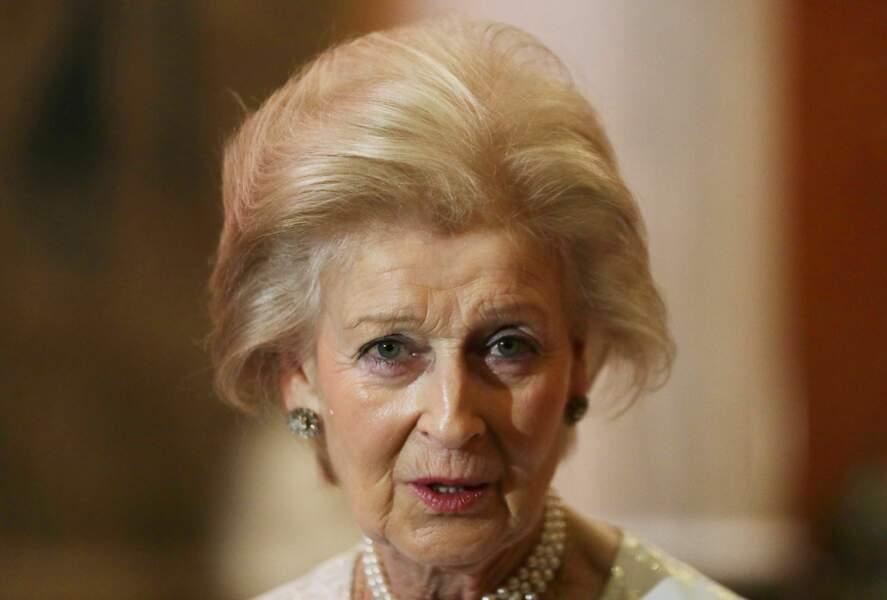 La princesse Alexandra, à Buckingham, en novembre 2016.