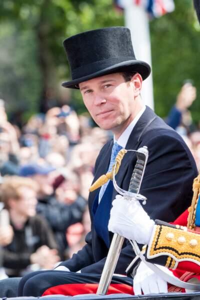 Jack Brooksbank, mari d'Eugenie d'York, à Londres, en juin 2019.
