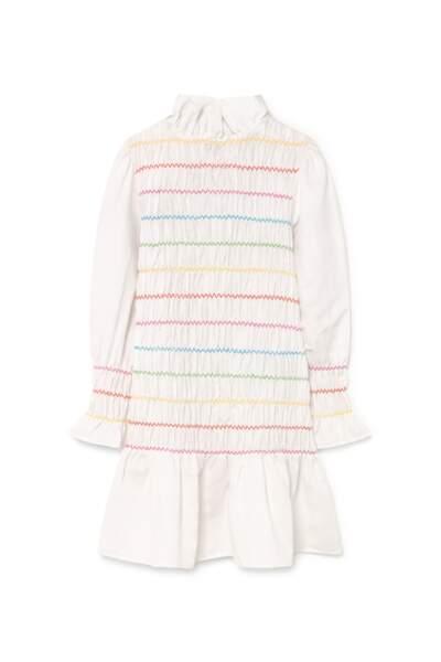 Robe à smock Corsica Rainbow, Maria de la Orden, 200 €