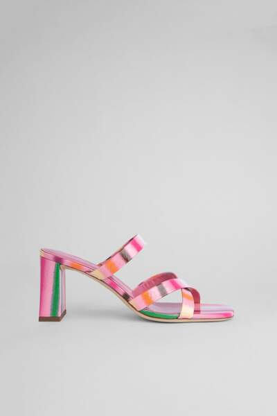 Mules multicolores, By Far, 375 €
