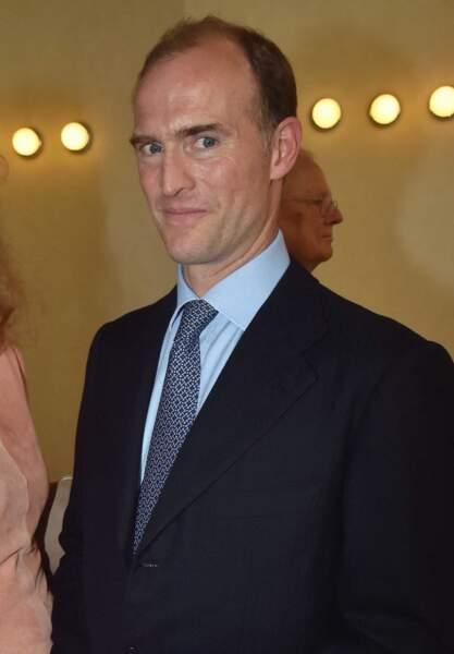 Le prince Heinrich Donatus de Hesse, à Francfort, en Allemagne, dans les années 2010.