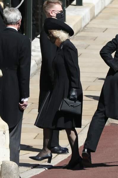 Camilla Parker Bowles au château de Windsor