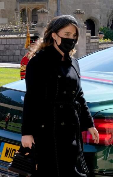 Eugenie d'York au château de Windsor pour les funérailles du prince Philip