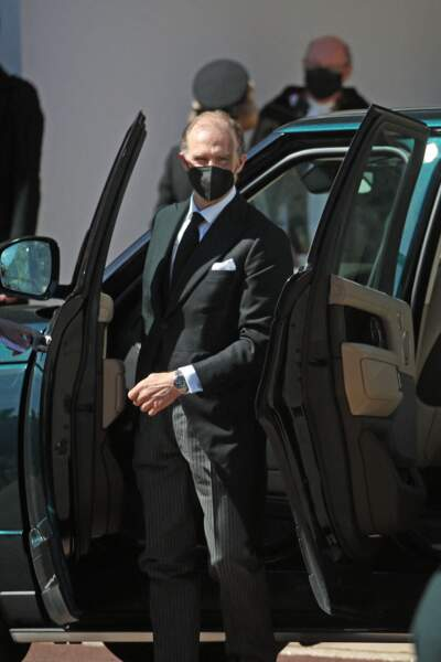 Heinrich Donatus de Hesse arrive au château de Windsor ce samedi 17 avril