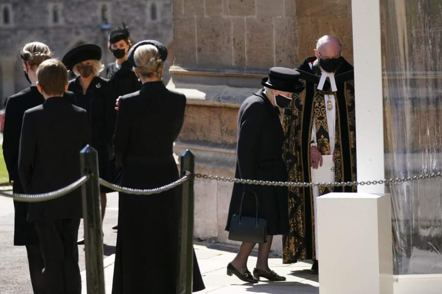 Sa Majesté Elizabeth II a été accueillie par l'archevêque Justin Welby