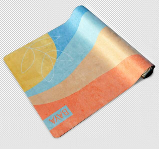 Tapis Sunrise en collaboration avec Chloé Penderie, Baya, 85 €, baya-france.com
