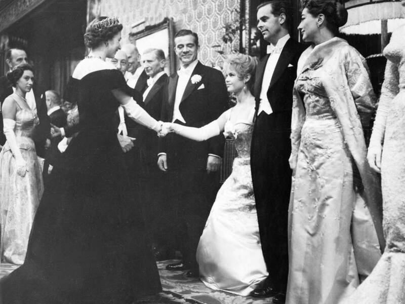 Elizabeth II et Brigitte Bardot