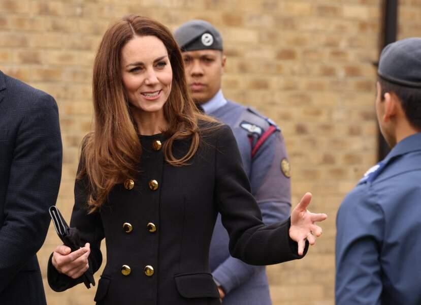 Kate Middleton a hérité du patronage militaire du prince Philip en 2015