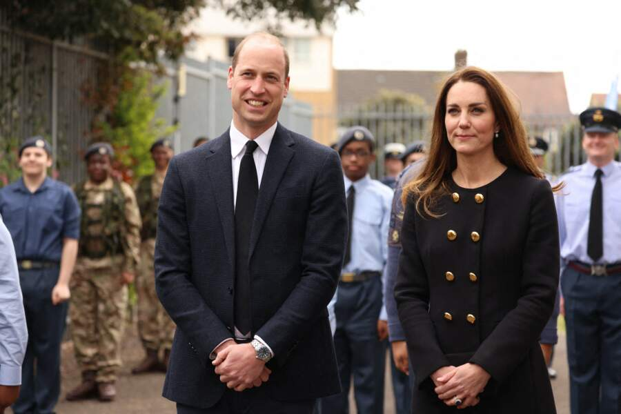 Le duc et la duchesse de Cambridge à Londres ce 21 avril 2021