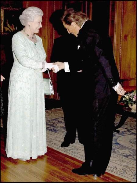 Elizabeth II et Valentino