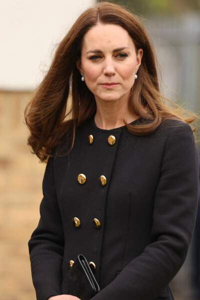 Kate Middleton honore son patronage militaire, ce 21 avril à Londres