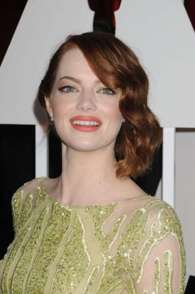 Le wob de Emma Stone, aux Oscars 2015